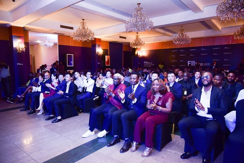 Cross section of guests at the Oppo Mobile Nigeria launch event