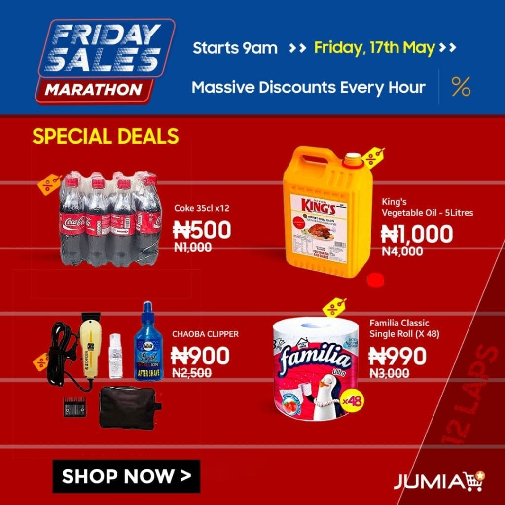 Jumia Friday Sales Marathon