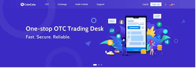 CoinCola OTC Trading