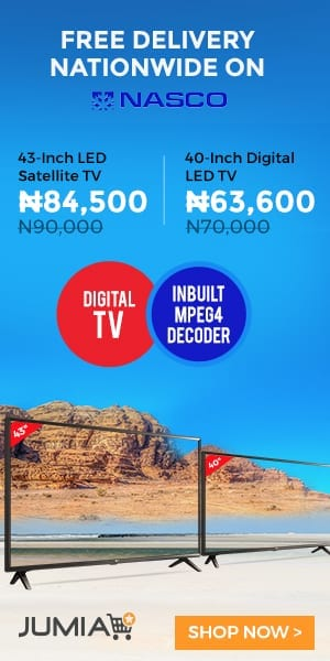Jumia Nasco TV  Deals