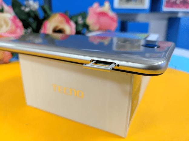 Tecno Pouvoir 3 SD card tray