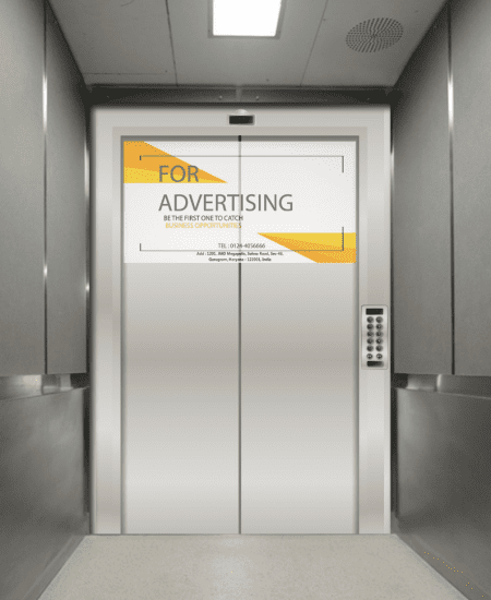 Projector Elevator Advertising