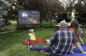Using Projector Outdoor