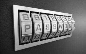 Set a strong password