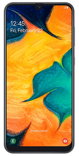 Samsung Galaxy A30 Front
