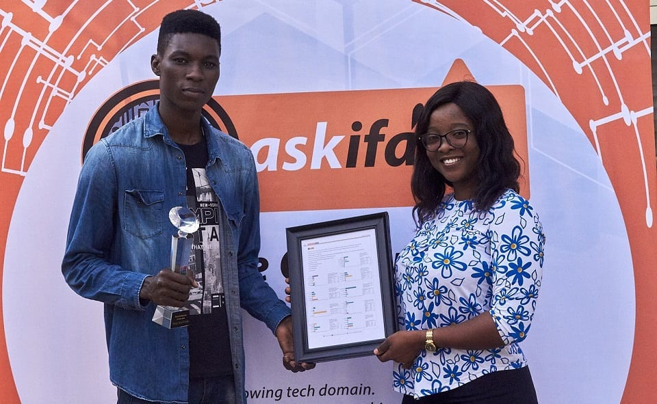Best Tech Influencer of the Year Award goes to NaijaTechGuide