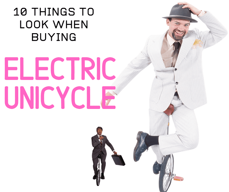 Buying an Electric Unicycle