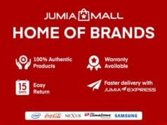 Jumia Mall: Online Store for Buying Original and Authentic Products