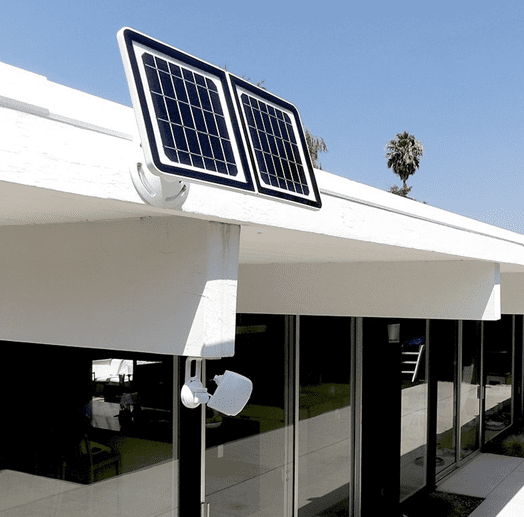 Lynx Solar Weatherproof Outdoor Surveillance Camera