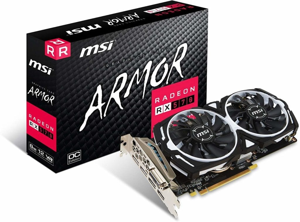 AMD Radeon RX 570 ARMOR 8G OC Graphic Card