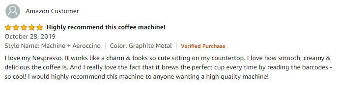 Nespresso ENV150GYAE VertuoPlus Review