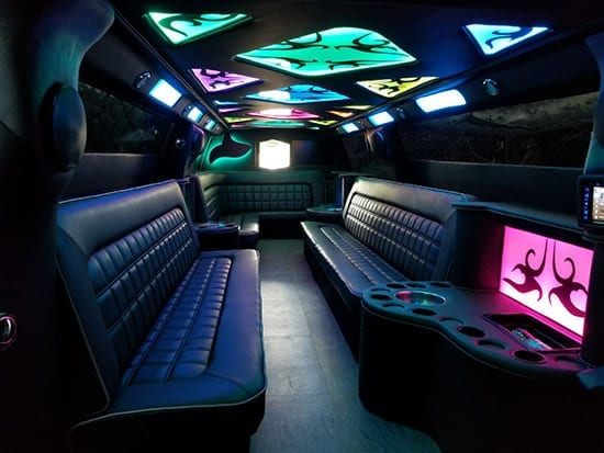 Limo Inside The Car