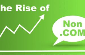 The Rise in Non-Dot-Com Domain Names