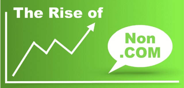 The Rise in Non-Dot-Com Domain Names