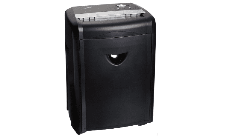 AmazonBasics 12-Sheet Home Office Shredder