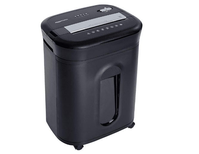 AmazonBasics 15-Sheet Office Shredder