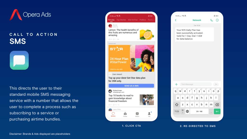 Opera Ads SMS