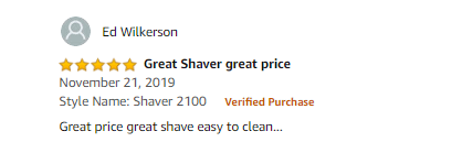 Philips Norelco Shaver 2100 S1560/81 Review