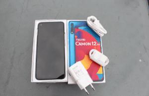 Tecno Camon 12 Air Unboxing