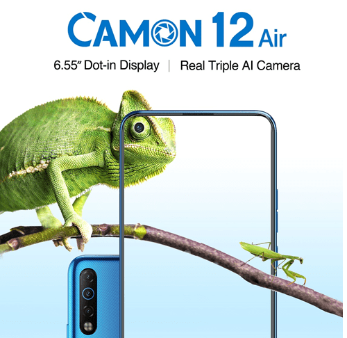 Amazing Cameras on the Camon 12 Air