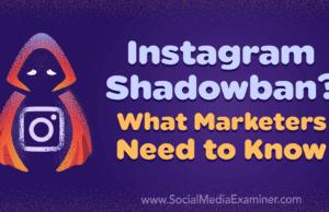 Shadow Banning on Instagram