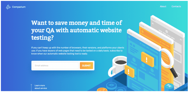 Automatic Website Testing