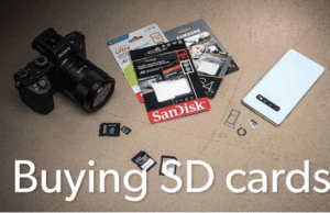 Buying SD Cards