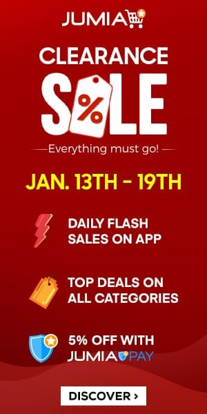 Clearance Sale 2020 from Jumia