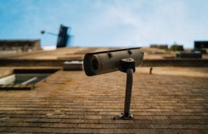 Security Camera for a CCTV System