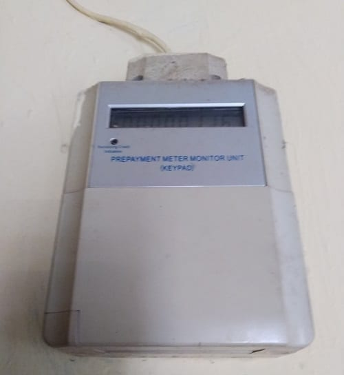 Smart Meter Monitor Unit for Loading Energy Credit into Meter