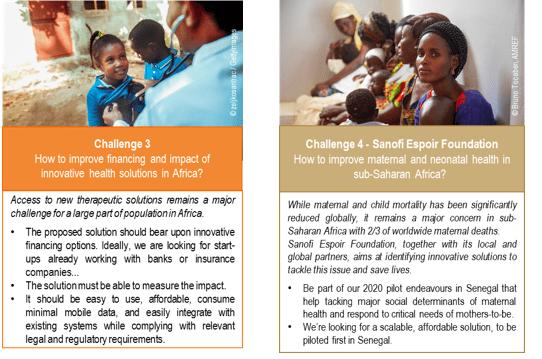 AfriTech Challenge 2020: Challenge 3 and Challenge 4