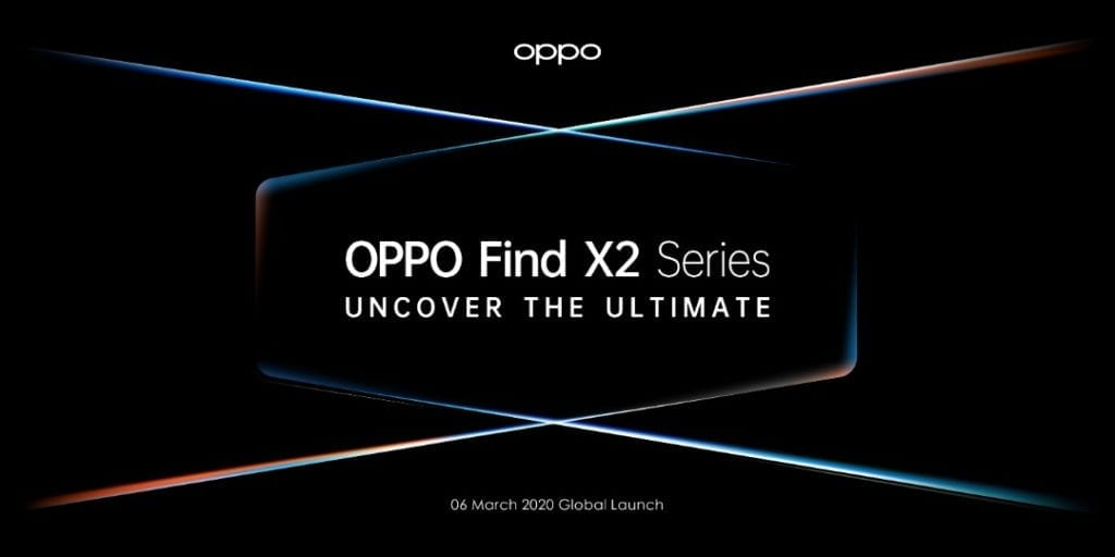 Oppo Launches Oppo Find X2 series on March 6