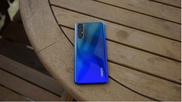 Oppo Reno3 on Table