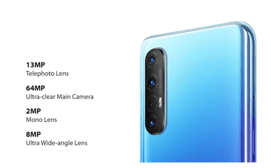 Oppo Reno 3 Quad Rear Camera
