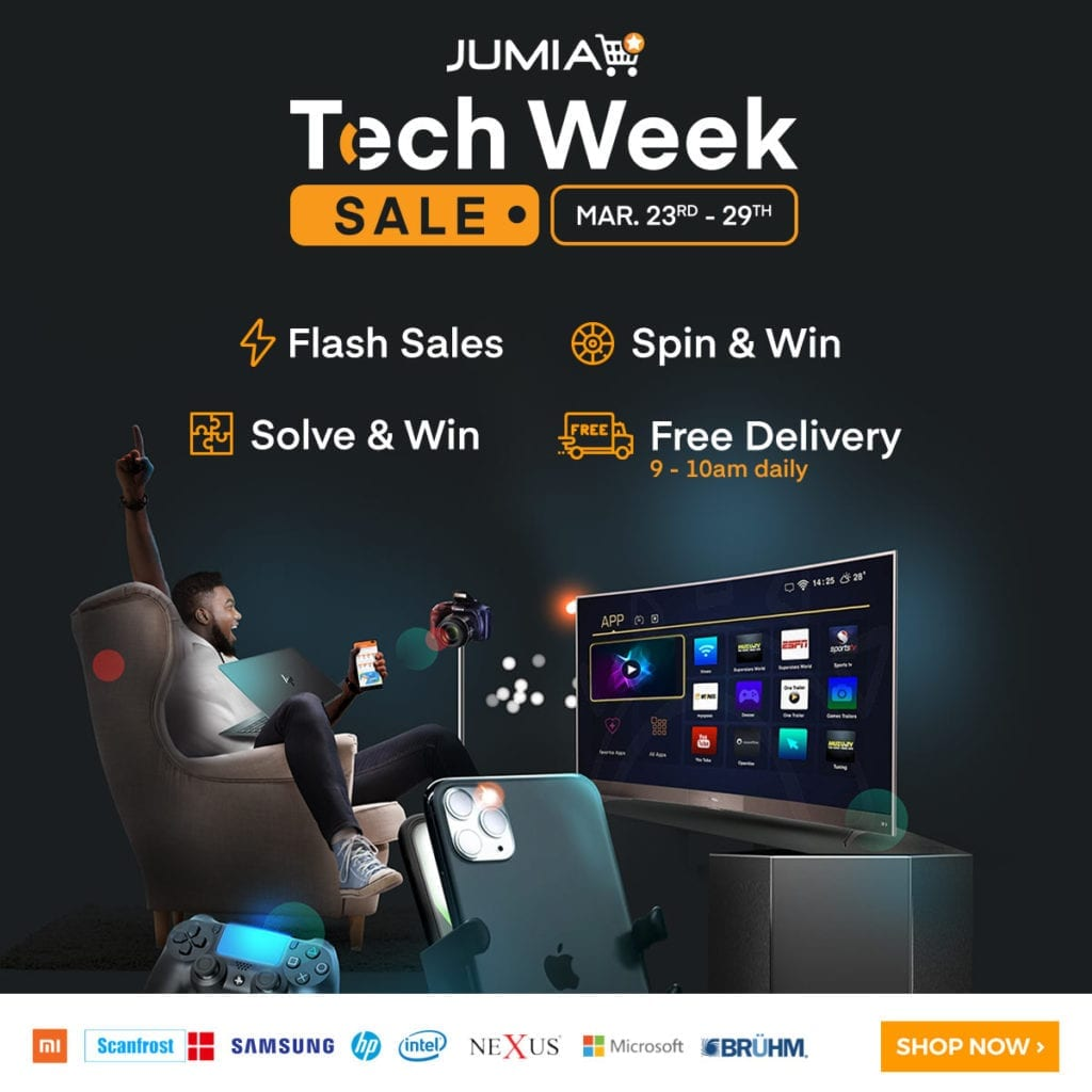 Jumia Tech Week Sale