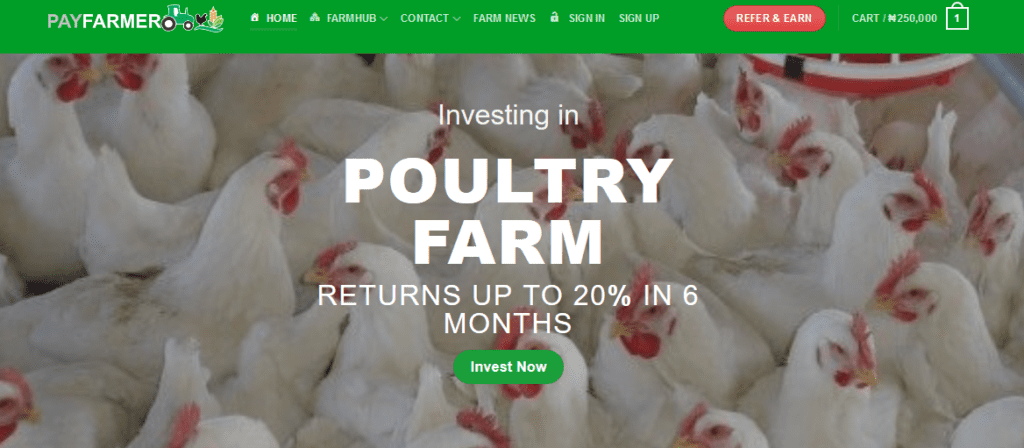 Agricultural investment platform - PayFarmer