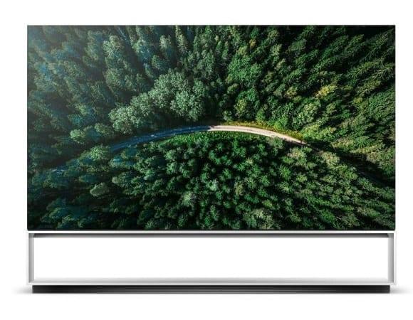 LG Signature Z9 88-inch 8K OLED TV