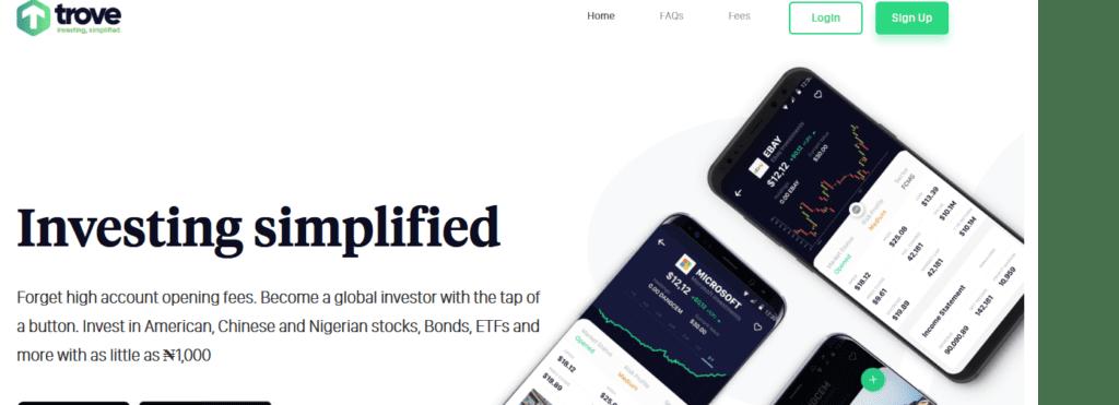 Trove Investment App
