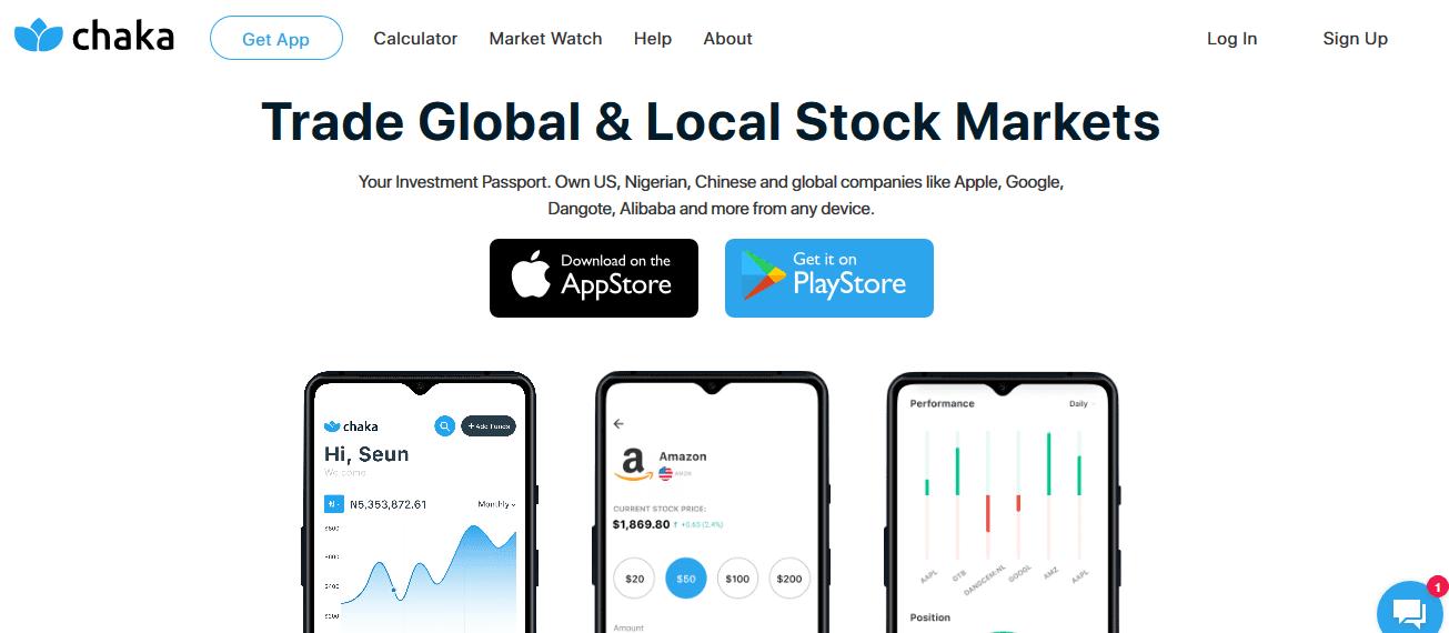 Chaka investment app
