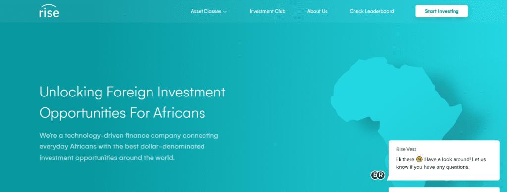 Rise investment app