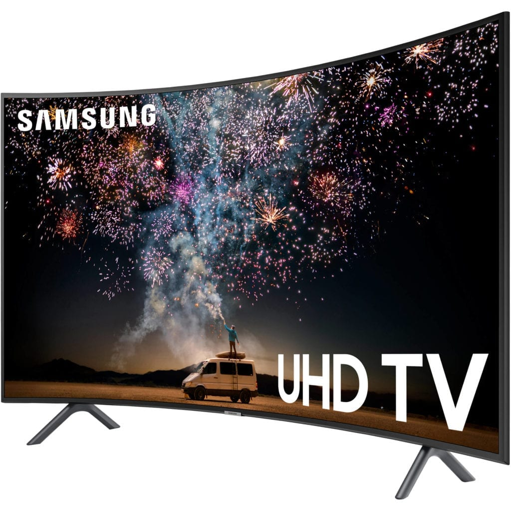 Samsung RU7300 Curved TV