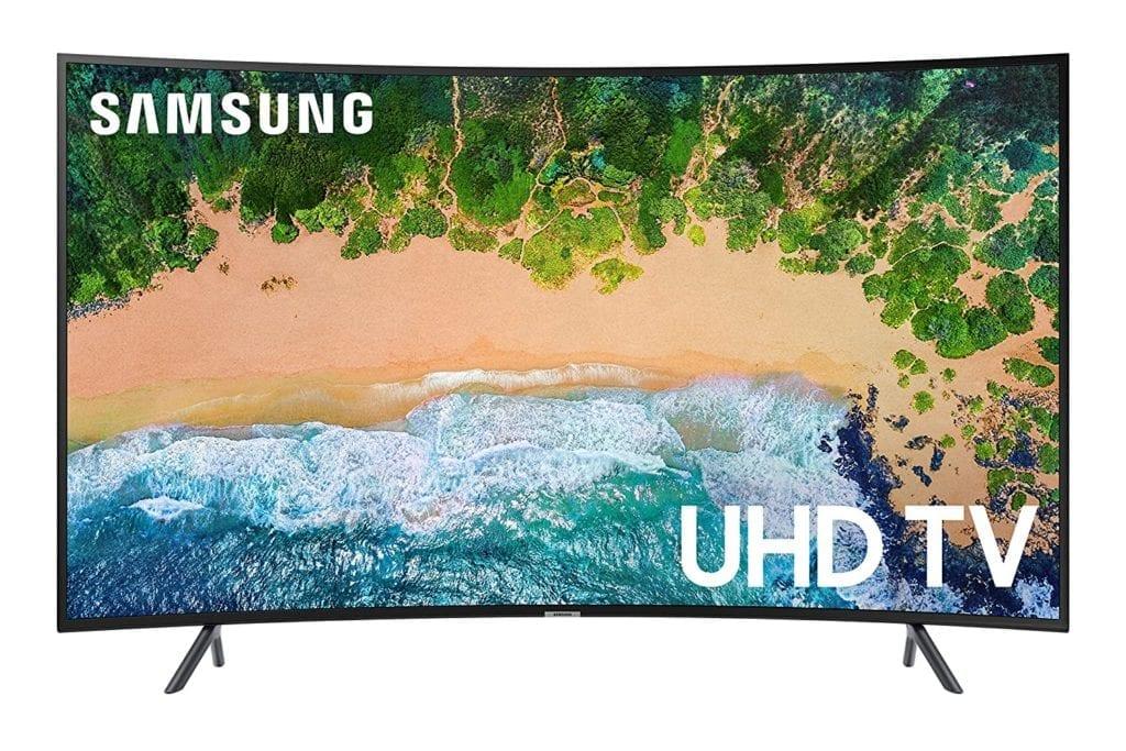 Samsung RU7300 Curved TV