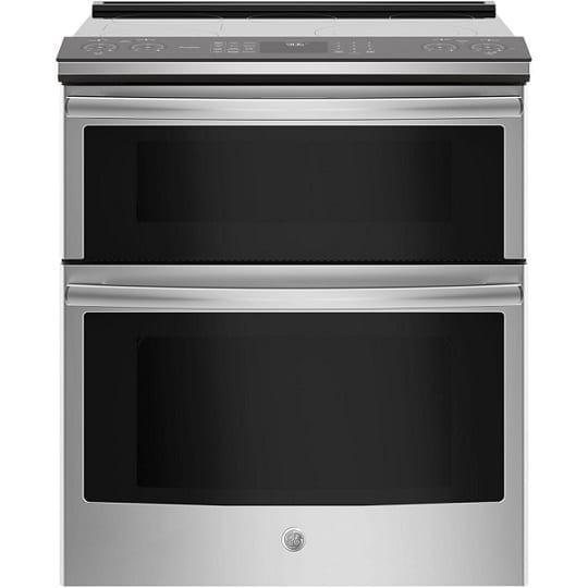 GE Slide-in Double Oven Electric Convection Range