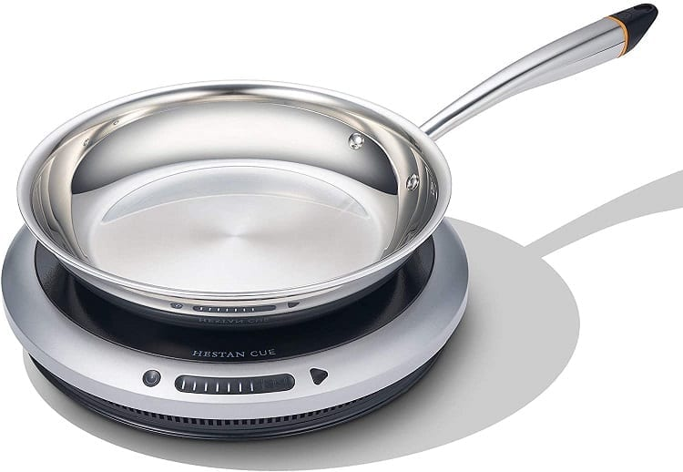 Hestan Cue Smart Induction Burner and Fry Pan