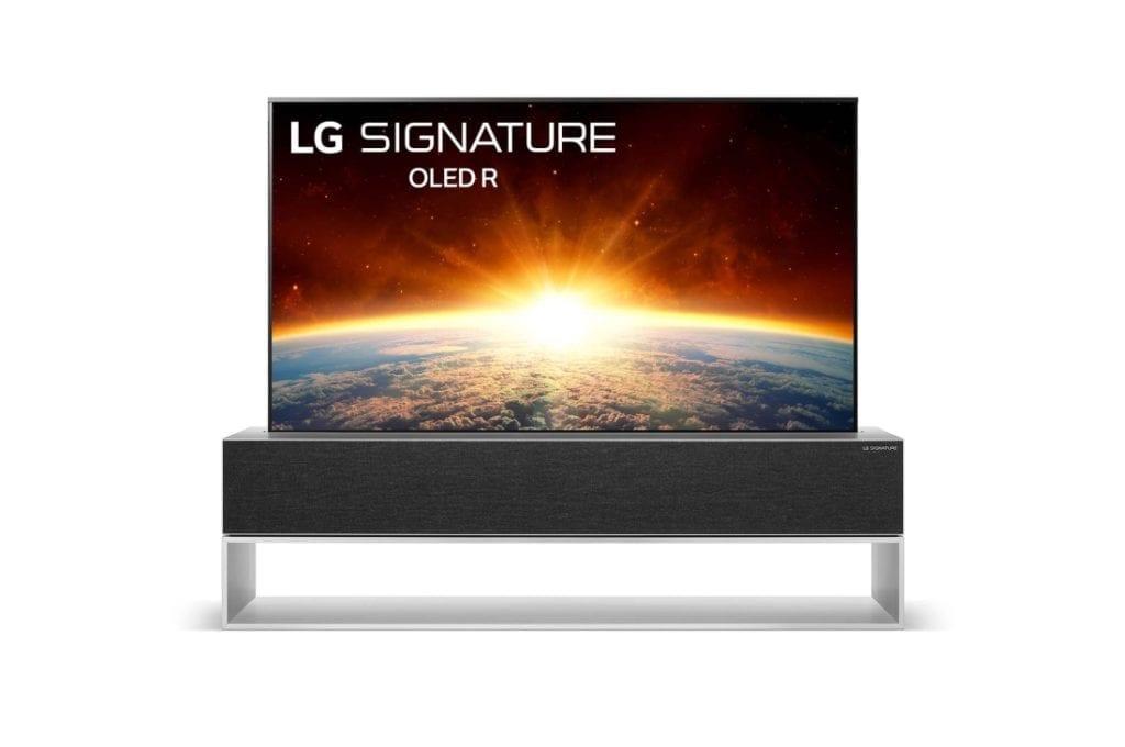 LG RX OLED TV