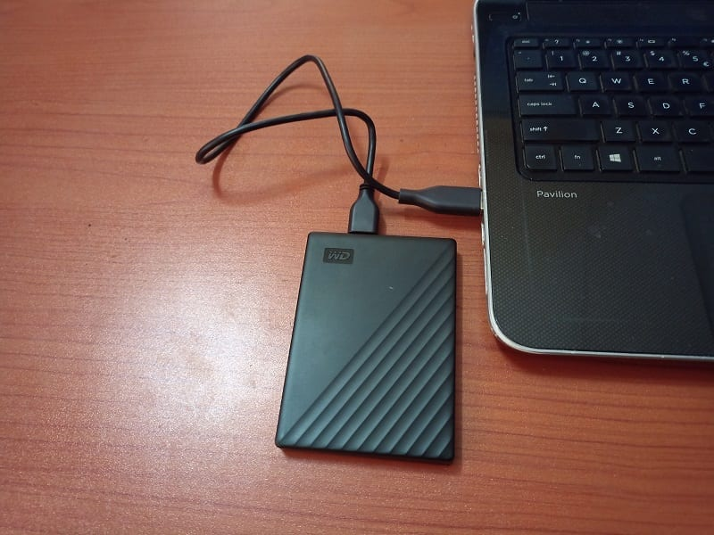 Connecting My Passport Portable External Hard Drive to your Computer