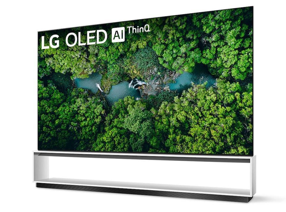 LG ZX 8K OLED TV