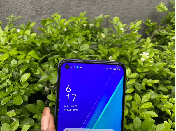 Oppo A92 Frotn Camera