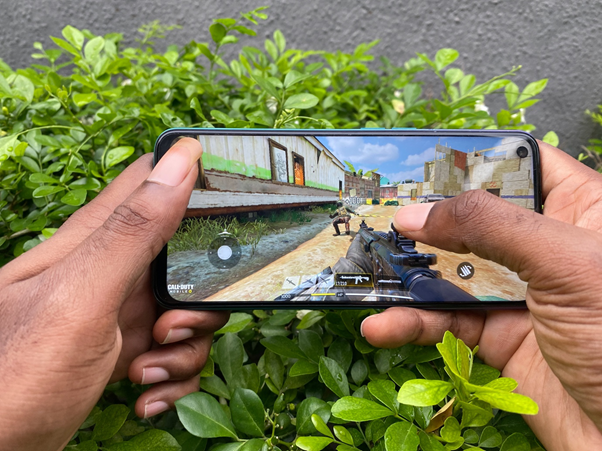 Gaming with Oppo A92
