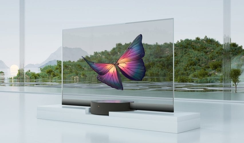 Xiaomi Mi TV Lux Transparent tv
